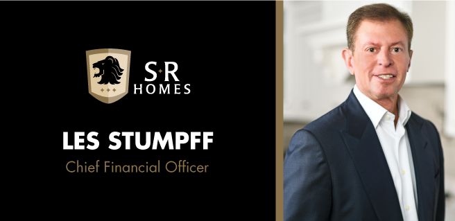 SR Homes Les Stumpff CFO