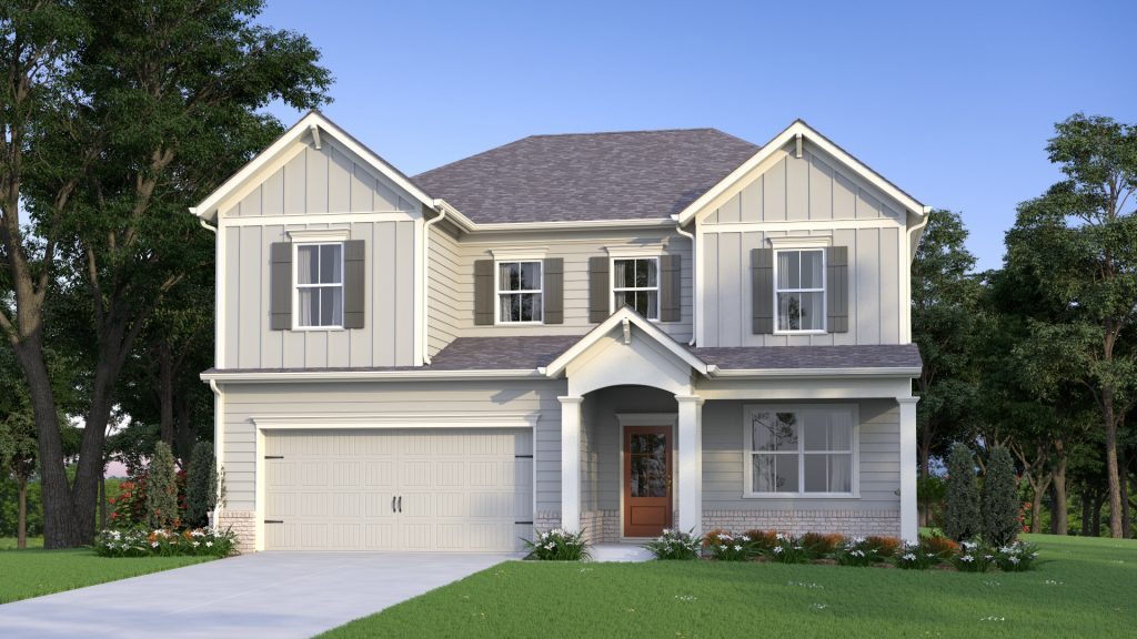 new home plan from Traton Homes at Smyrna community