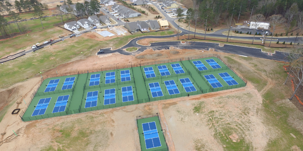 Cresswind Georgia at Twin Lakes Phase I Pickleball Center